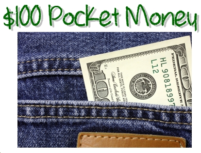 100 POCKET MONEY